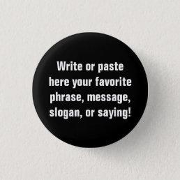 Small Button (1¼  Inch)