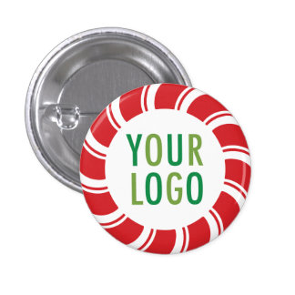 Small Button Pin Custom Logo Promotional Holiday