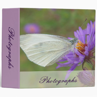 Small Cabbage White Butterfly Binder