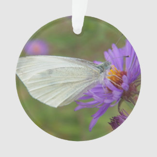 Small Cabbage White Butterfly Ornament