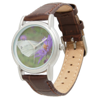 Small Cabbage White Butterfly Wrist Watch