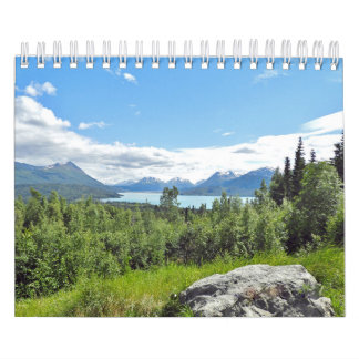 Small calender of wildlife and scenery calendar