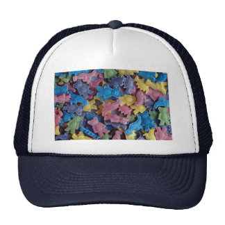 Small candy animals mesh hats