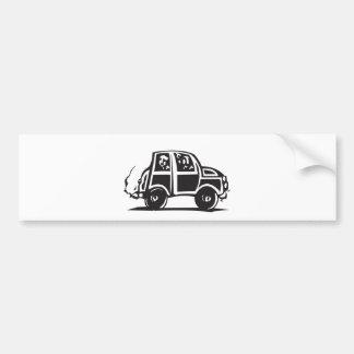 Small Car Bumper Sticker