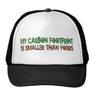 Small Carbon Footprint Mesh Hat