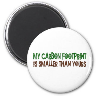 Small Carbon Footprint Magnet