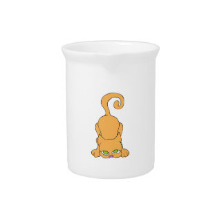 Small Cat Drink Pitchers