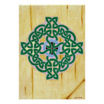 Small Celtic Cross (combo) print