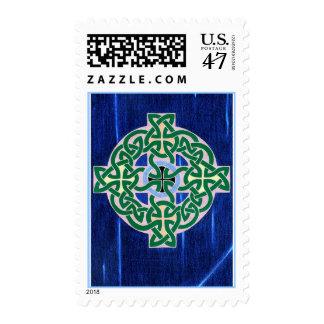 Small Celtic Cross (negative) stamp