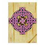 Small Celtic Cross print