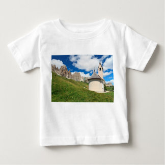 small chapel in Dolomites Baby T-Shirt