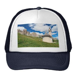 small chapel in Dolomites Trucker Hat