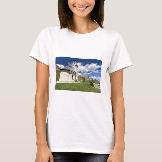 small chapel in Gardena pass T-Shirt