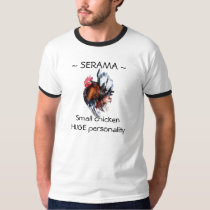 Small Chicken Huge Personality T-Shirt