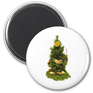 Small Christmas Tree Refrigerator Magnets