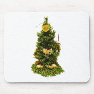 Small Christmas Tree Mouse Pad
