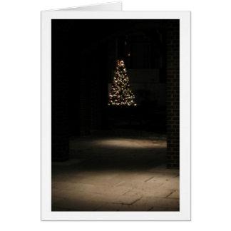 Small Christmas Tree with Lights Card
