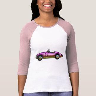 small classic sports car t shirt