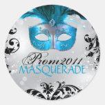 Small - Classy Masquerade Sticker
