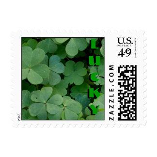 Small Clover 001 Postage