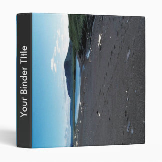 Small coastal pond at Cape Lisburne Vinyl Binder