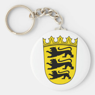 Small coat of arms of Baden-Wuerttemberg Keychain