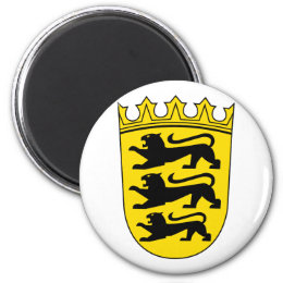Small coat of arms of Baden-Wuerttemberg Magnet