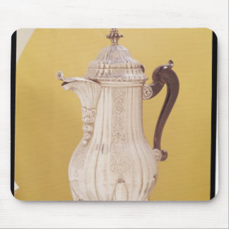 Small coffee pot mouse pad