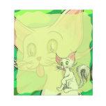 Small Colin Cat Memo Pad