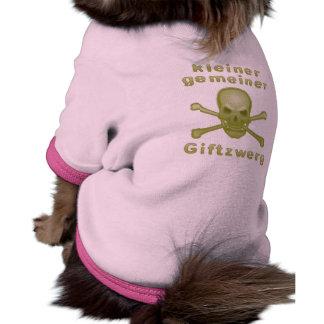 Small common poison dwarf! doggie t shirt