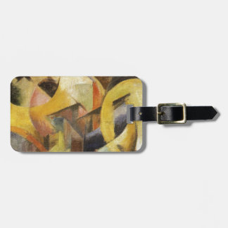 Small Composition I by Franz Marc Luggage Tag