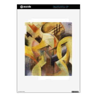 Small Composition I by Franz Marc Skin For iPad 2