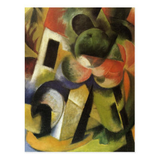 Small Composition II by Franz Marc Postcard