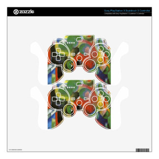 Small Composition III by Franz Marc Skins For PS3 Controllers