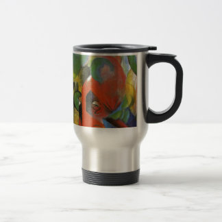 Small Composition III by Franz Marc Travel Mug