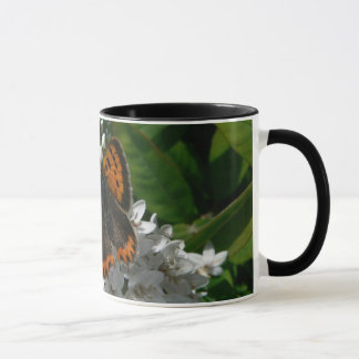 Small Copper Butterfly mug
