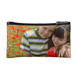Small Cosmetic Bag Handbag Personalized Picture at Zazzle
