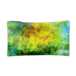 Small Cosmetic Bag Summer wind gust