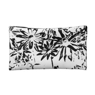 Small Cosmetic Bag Transparent flowers