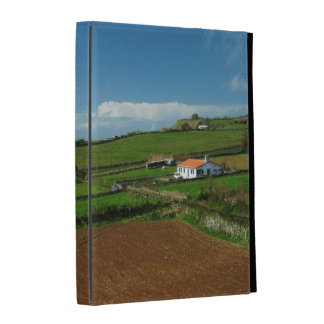 Small cottage and pastures iPad cases