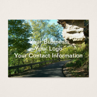 Small Country Road Business Card