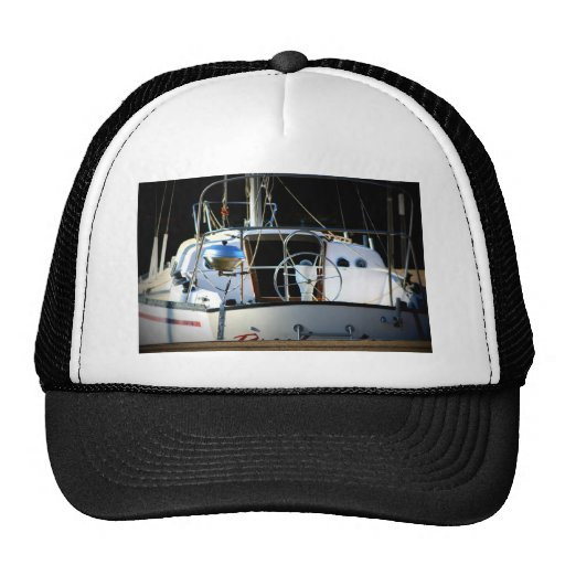 Small craft trucker hat zazzle for Tiny top hats for crafts