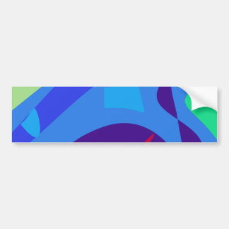 Small Creatures int the Water Car Bumper Sticker
