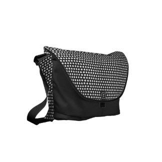 Small crystal sequins small messenger bag