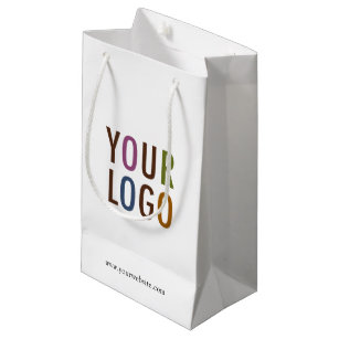 Small Custom Paper Ping Bag With Company Logo