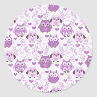 Small Cute Owl Stickers