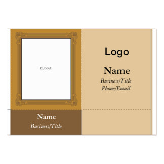 Small Desk Picture Frame Business Card