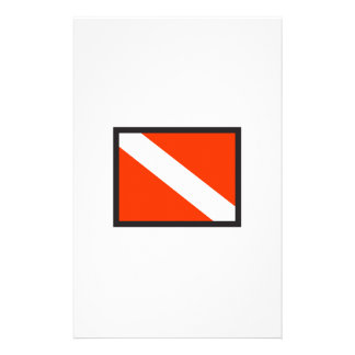 SMALL DIVE FLAG STATIONERY
