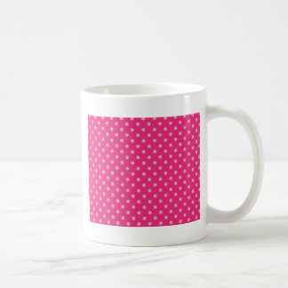Small dots Purple Coffee Mug