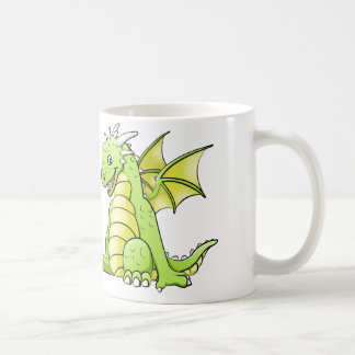 small dragon coffee mug
